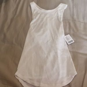 WHITE URBAN OUTFITTERS SMALL TANK TOP BRAND NEW